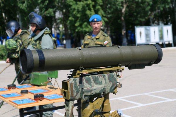 Tên lửa chống tăng Konkurs.