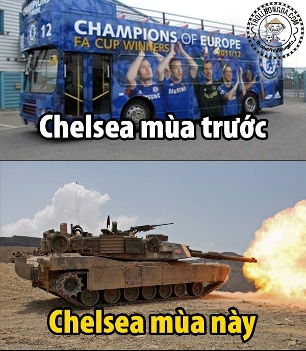 Xe bus xưa rồi, giờ Chelsea là xe tăng nhé