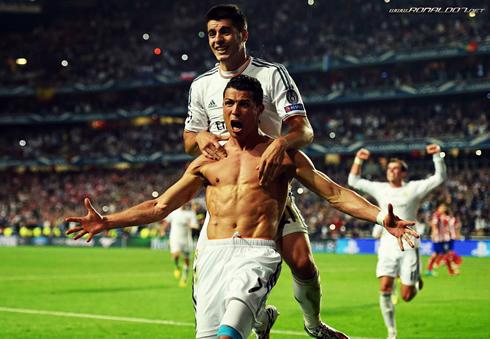 Ronaldo đã đạt được các mục tiêu lớn với Real