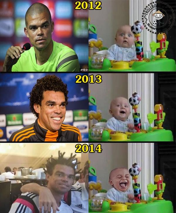 Kiểu tóc Pepe ngày càng dị