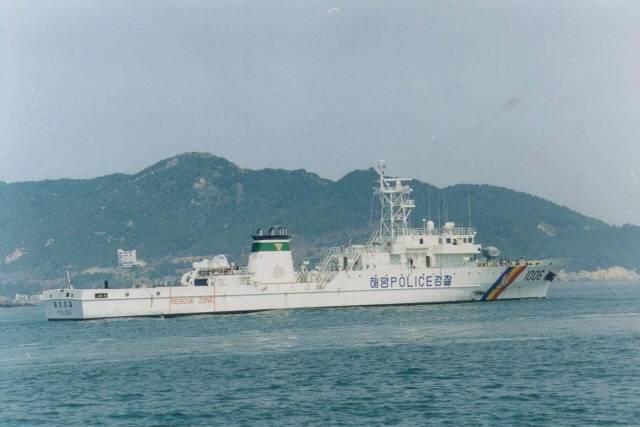 Tàu tuần tra lớp sông Hàn số hiệu 1005, gia nhập biên chế năm 1985