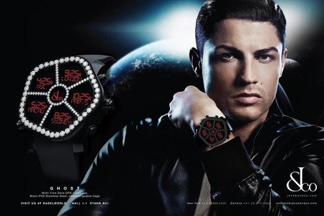 Cris Ronaldo là gương mặt quảng cáo cho rất nhiều thương hiệu nổi tiếng