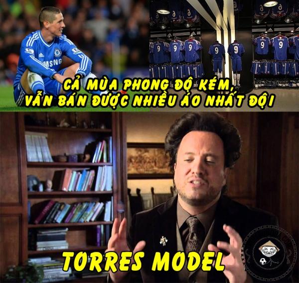 Rất ngược đời cho Torres