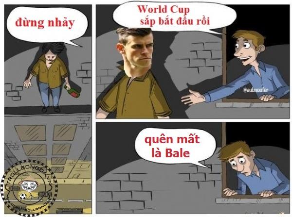 Quá đau cho Bale khi không được đến World Cup