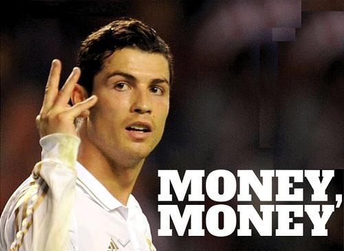 Hay đơn giản Ronaldo chỉ muốn có tiền??
