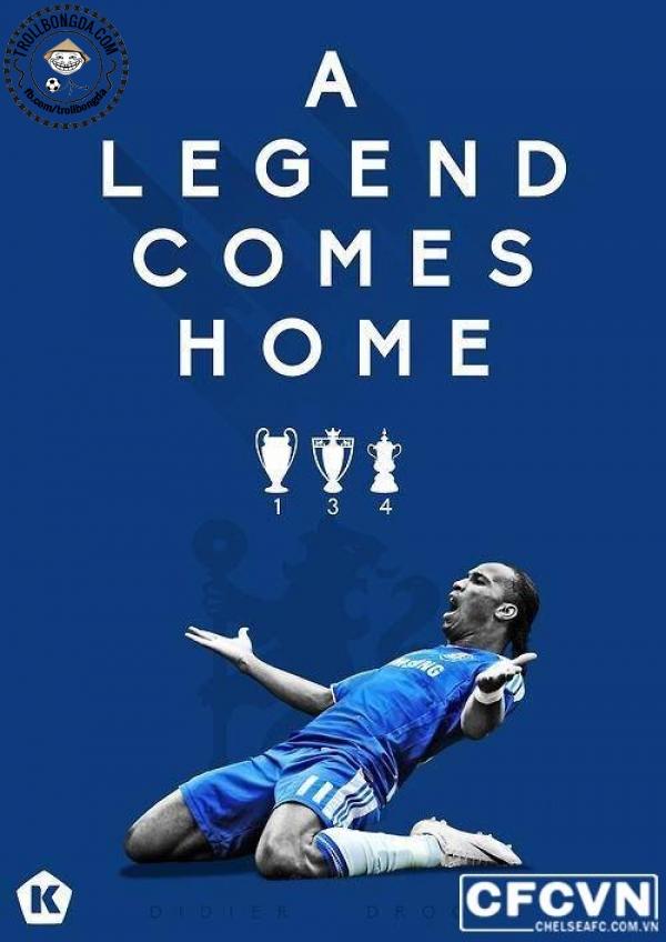 Chào Drogba về nhà