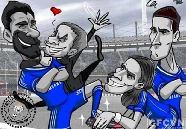 Torres bị bỏ rơi rồi nhé!