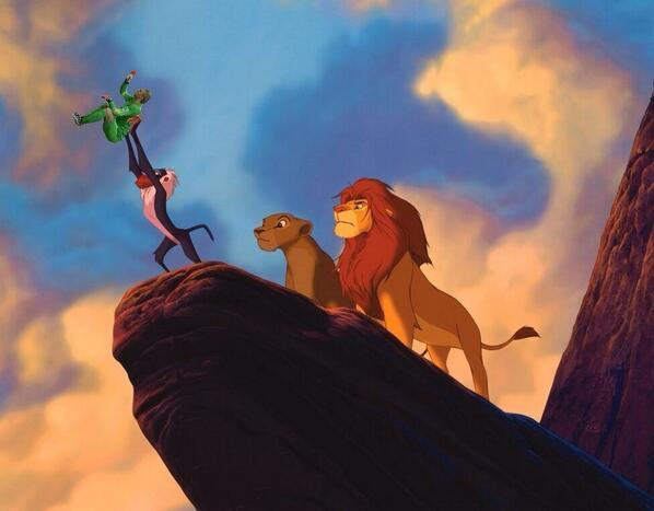 Con trai Vua sư tử