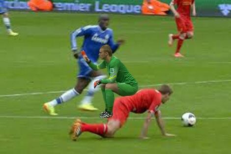 Hay đã từng ngồi lên Gerrard?