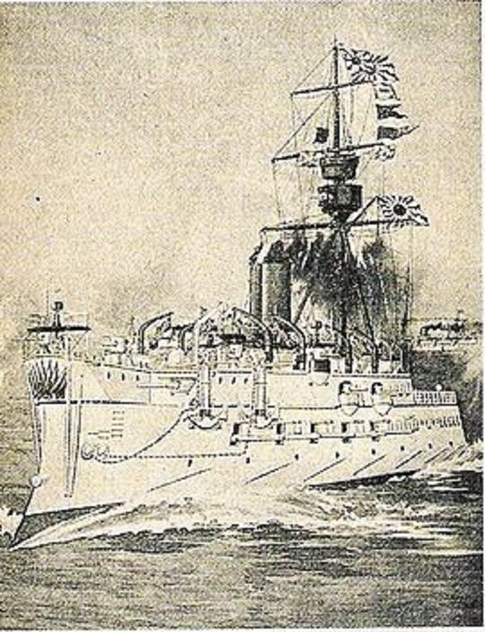 Kỳ hạm Matsushima của Nhật Bản