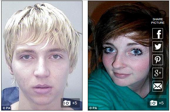 Rebecca Aylward cùng người bạn trai độc ác