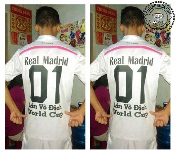 Real vô địch World Cup??