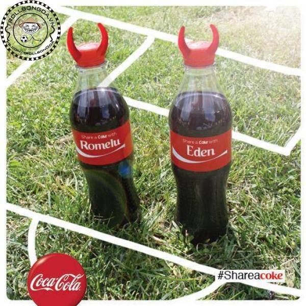 Nước giải khát Lukaku và Hazard của Bỉ