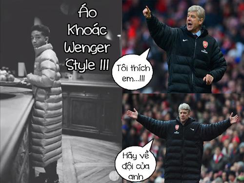 Wenger thì bận săn học trò dị