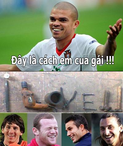Đến lượt Pepe!!