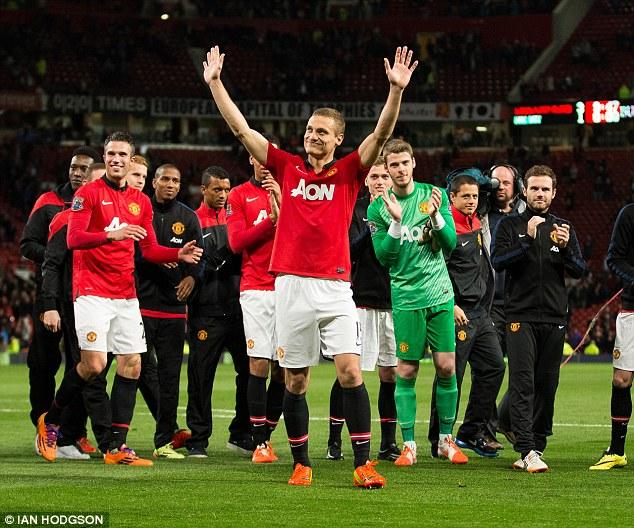 Vidic từng rơi nước mắt trong ngày chia tay Man United
