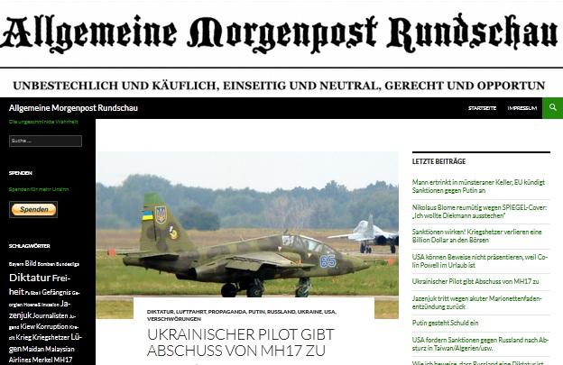 Bài trên trang amr.amronline.de