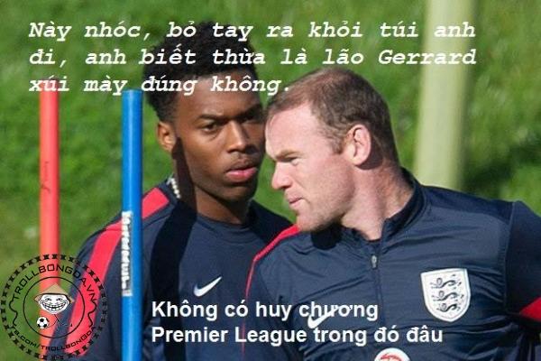 Rooney và Sturridge cùng cảnh ngộ