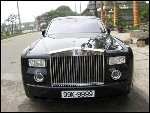 Siêu xe Rolls-Royce biển tứ quý 9 của đại gia Minh Sâm.