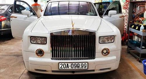 Chủ nhân của siêu xe Rolls-Royce mang biển số tứ quý 9 là một doanh nhân giàu có ở Thái Nguyên.