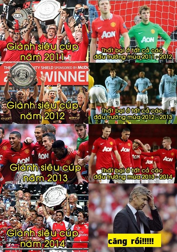 Wenger tính nhầm sao?