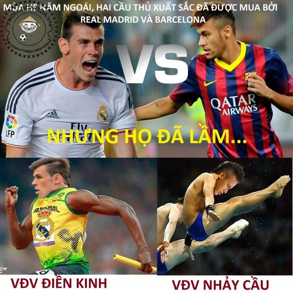 Sự thật về việc mua Bale và Neymar!