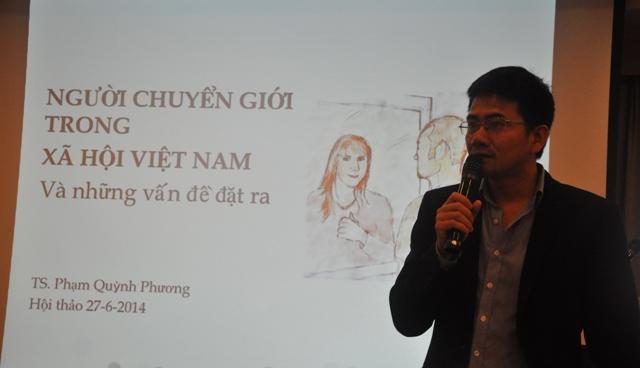 Th.S Lê Quang Bình – Viện trưởngViện Nghiên cứu Xã hội, Kinh tế và Môi trường (iSEE) (Ảnh: Tuấn Nam)