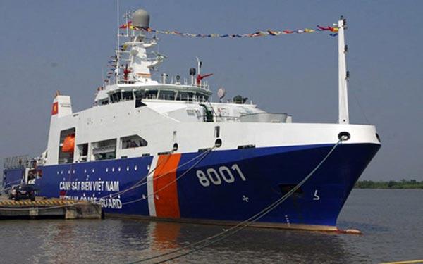 Tàu tuần tra CSB-8001(DN-2000) loại tàu tuần tra lớn nhất của Cảnh sát biển Việt Nam.