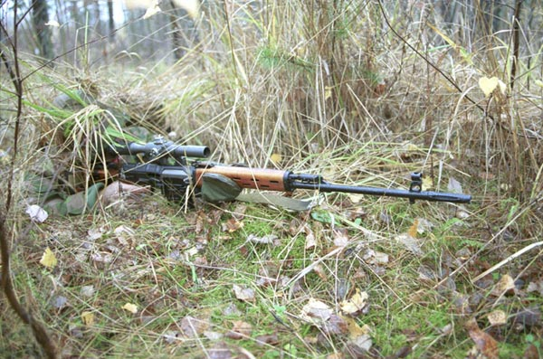 Dragunov SVD là súng bắn tỉa tiêu chuẩn của các lực lượng vũ trang Việt Nam (ảnh minh họa nước ngoài)