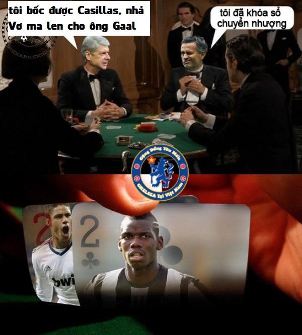Mourinho rất là thâm nho