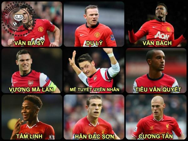 Tên Arsenal được Việt hóa