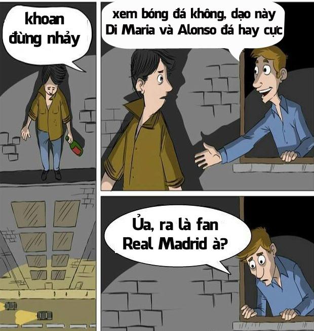 Fan Real vẫn đang rất buồn