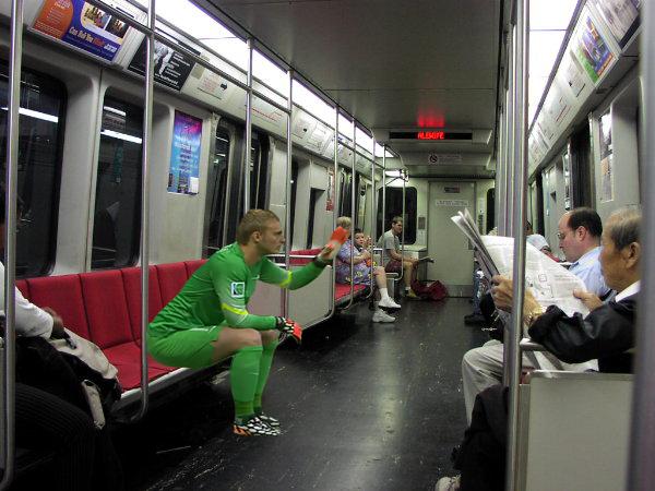 Làm chuyến tàu êm ái nhé!