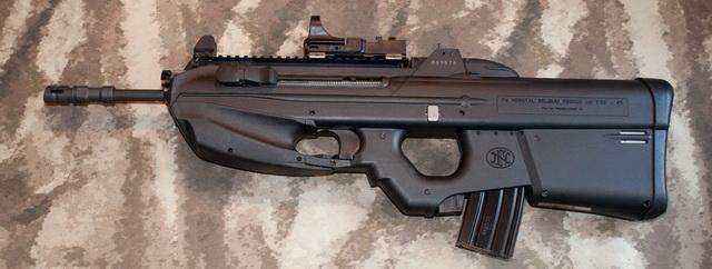 FN F2000 hay FN 2000 là loại súng trường tấn công dạng bullpup mới nhất hiện nay, được chế tạo bởi tập đoàn vũ khí FN của Bỉ vào năm 2001. Súng ra mắt lần đầu tiên tại triển lãm IDEX tổ chức tại Abu Dhabi. FN F2000 có tốc độ bắn nhanh và sức công phá lớn khiến nó trở nên rất đáng sợ. Cơ chế kích hoạt và hệ thống an toàn dựa theo FN P90. Nó sử dụng loại đạn 5,56×45mm NATO. FN F2000 hơi bất tiện ở chỗ không có nút giữ băng đạn giống như M-4 Carbine và M-16. Vì vậy, các binh sĩ cần trực tiếp dùng tay tháo băng đạn ra. FN F2000 còn có thể gắn thêm súng phóng lựu GL1 khiến nó trở nên đa năng hơn. Thông số cơ bản súng trường tấn công FN F2000 (bản tiêu chuẩn): Trọng lượng 3,6 kg; dài 688 mm; chiều dài nòng 400 mm; băng đạn 30 viên; tốc độ bắn 850 viên/phút; sơ tốc đạn 900 m/s; tầm bắn hiệu quả 500 m.