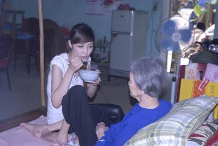 Bên trong căn nhà của Hoa hậu Triệu Thị Hà ở Cao Bằng.
