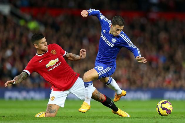 Việc rút Hazard, Oscar và Willian là một phần nguyên nhân khiến Chelsea bị Man United cầm hòa 1-1