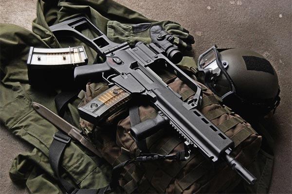 HK G36 là một súng trường tấn công hiện đại, nó được xếp vào Top đầu trong những súng trường tấn công tốt nhất thế giới hiện nay.