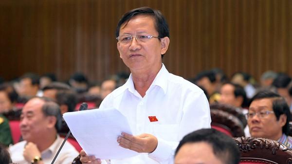 Đại biểu Quốc hội Huỳnh Thành (tỉnh Gia Lai) (Ảnh: Việt Dũng)