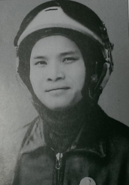Thượng úy - Liệt sĩ Hà Văn Chúc (Ảnh: Cuốn Những trận không chiến trên bầu trời Việt Nam (1965-1975) nhìn từ 2 phía)