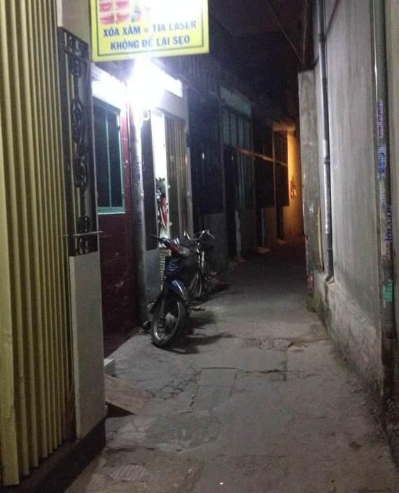 Con hẻm vào nơi  ông Liêm tạm trú tại Gò Vấp