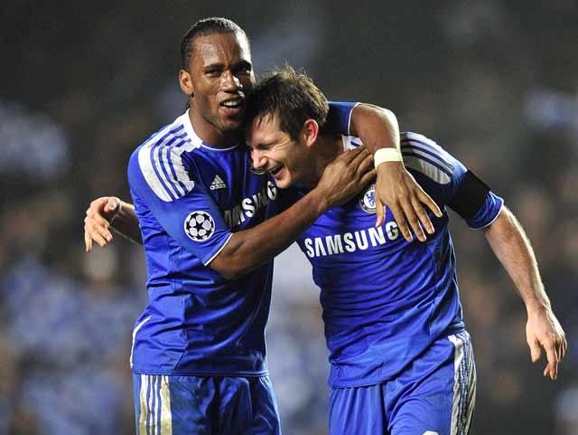 Drogba và Lampard, người đến người đi