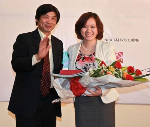 Tốt nghiệp 2 trường đại học danh giá tại Mỹ, Lê Thu Thủy (Hiện là Phó tổng giám đốc Ngân hàng SeABank) đã từ bỏ Mỹ về Việt Nam.