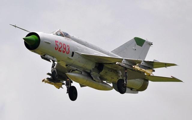 Từ năm 1979 lực lượng MiG-21 được bổ sung một cách mạnh mẽ