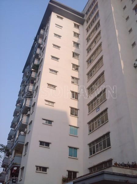 Tòa nhà nơi xảy ra vụ án mạng kinh hoàng do Nguyễn Đức Nghĩa gây ra