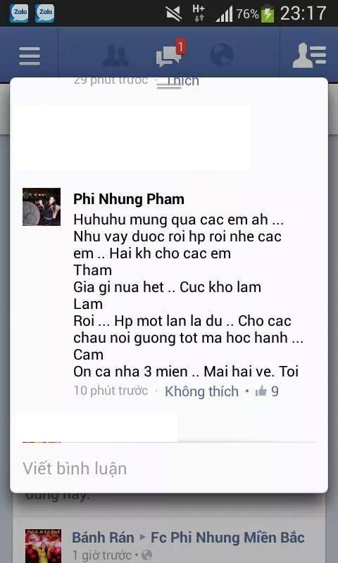 Phi Nhung không muốn fan tiếp tục bình chọn.
