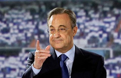 Perez là số một ở Real Madrid