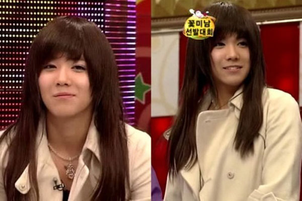 Ca sĩ chính của nhóm nhạc FT Island, Lee Hong Ki trông thật ngọt ngào như thiếu nữ khi giả gái.