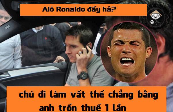 Messi còn hơn Ronaldo nhiều thứ nữa cơ