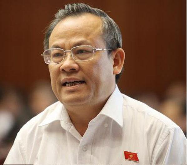 Ông Lê Văn Cuông, nguyên Phó trưởng Đoàn ĐBQH tỉnh Thanh Hóa khóa XII.