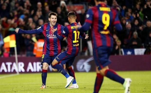 Sang đến mùa giải 2014-15, với sự gia nhập của Suarez, Barca chơi khởi sắc. Nhưng vẫn kết thúc năm 2014 kém Real một bậc trên BXH.